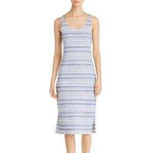 NWT Lysse Mulholland Striped Tank Midi Dress